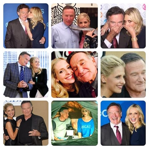 Robin Williams Sarah Michelle Gellar post