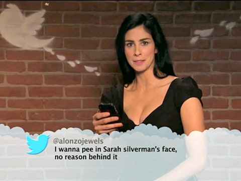 Sarah Silverman - Mean Tweets