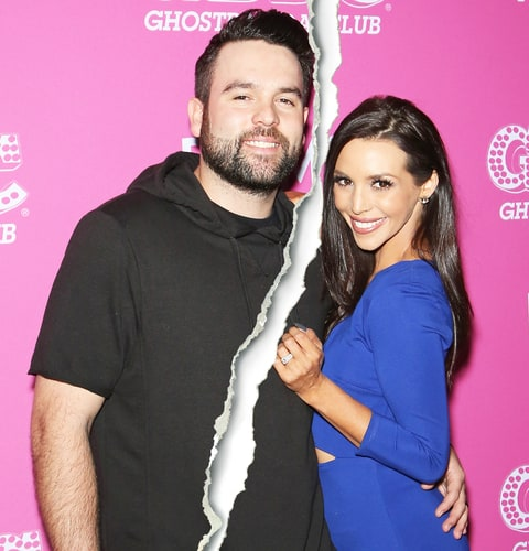 Scheana Shay and Mike Shay on February 20, 2016 in Las Vegas, Nevada.