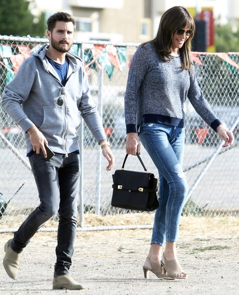 Scott Disick and Caitlyn Jenner