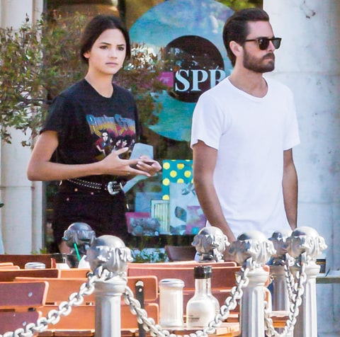 Scott Disick and Christine