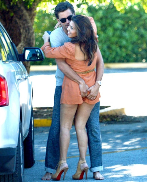 Kourtney and Scott pda