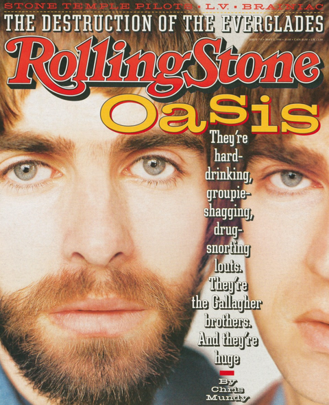 Oasis Cover Rolling Stone 1996