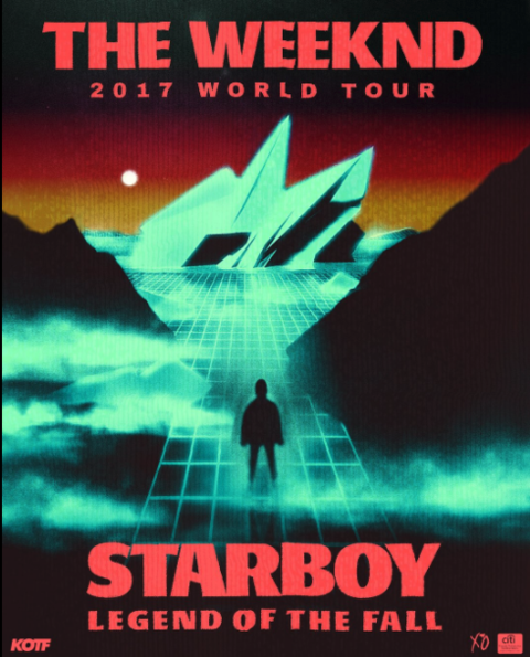 Image result for the weeknd starboy tour phase two