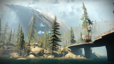 The new European Dead Zone that's the new Earth-based location in 'Destiny 2'