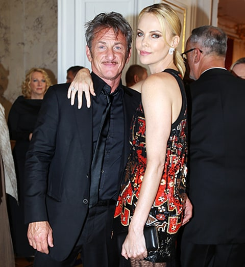 Sean Penn And Charlize Theron Are Forced To Reunite After Their Breakup