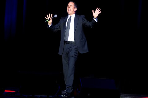 Jerry Seinfeld Jokes parenting madison square garden