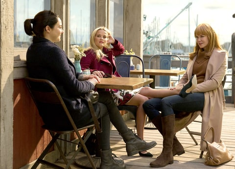Shailene Woddley, Reese Witherspoon, and Nicole Kidman in Big Little Lies.