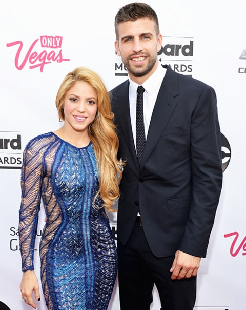 shakira and gerard at billboard awards