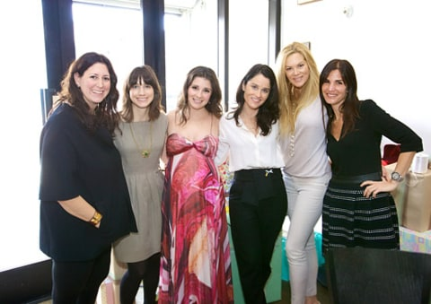 Shiri Appleby Baby Shower - hostesses
