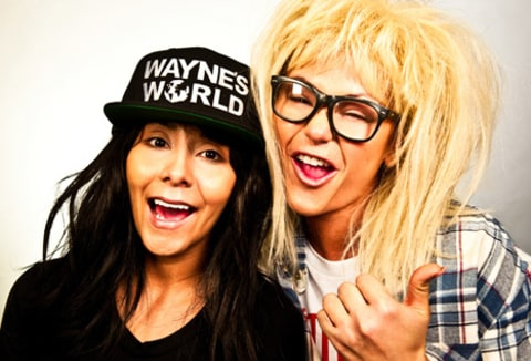 snooki jwoww wayne and garth