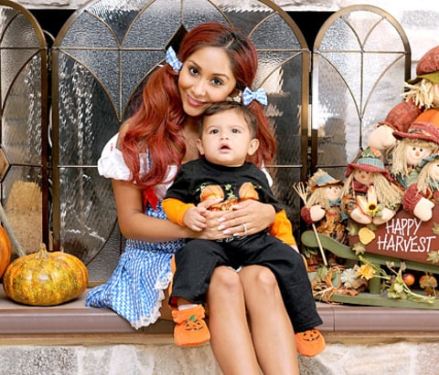 Snooki and Lorenzo - Halloween