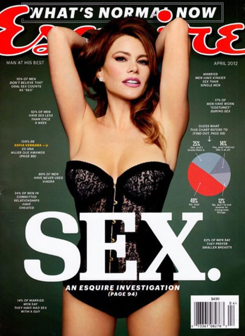 Sofia Vergara Esquire cover