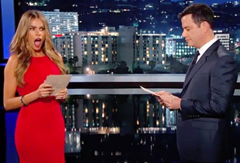 sofia vergara on jimmy kimmel