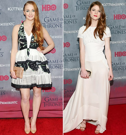 sophie turner and rose leslie
