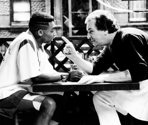 Spike Lee and Danny Aiello