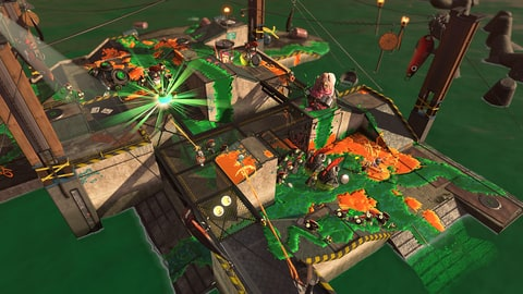 The new Salmon Run mode in 'Splatoon 2' is a four-player co-op mode. Think of it as
