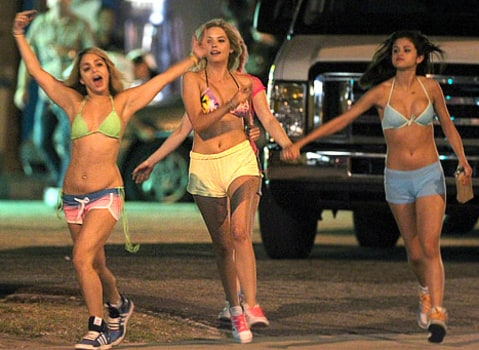 Spring Breakers running