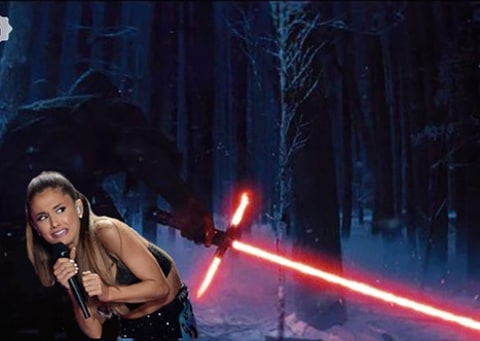 Star Wars and Ariana Grande