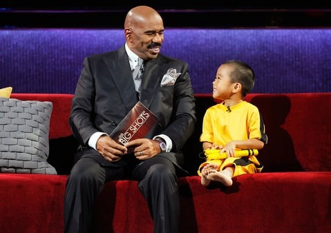 Steve Harvey on 'Little Big Shots'