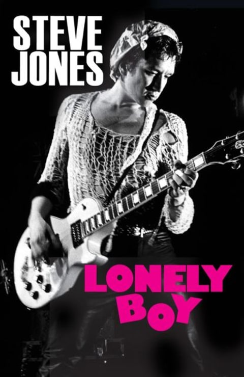 Steve Jones Lonely Boy Book cover