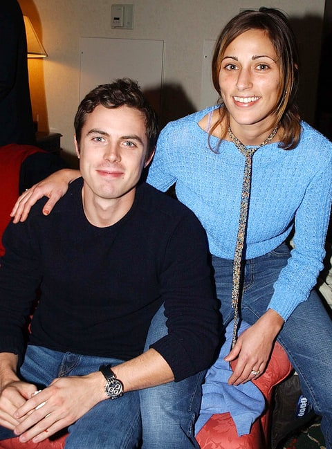 Casey Affleck and Summer Phoenix in 2002