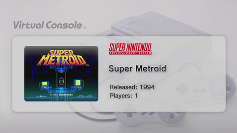 Virtual Console Super Metroid