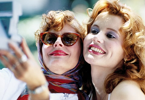 susan sarandon and geena davis in thelma and louise