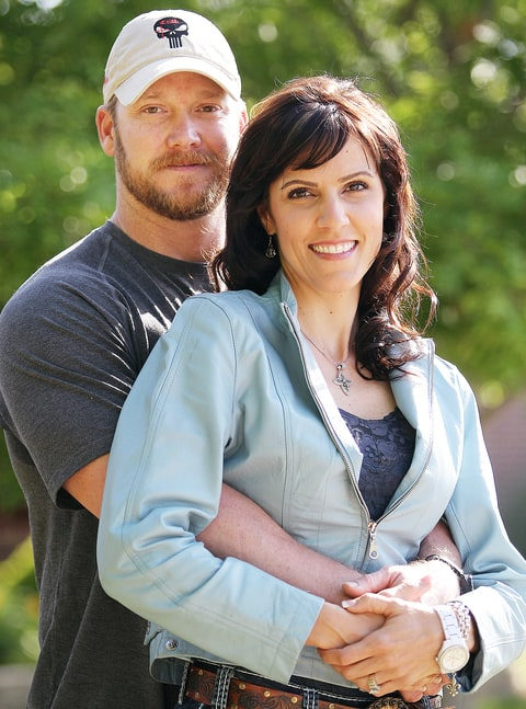 Chris Kyle and Taya Kyle