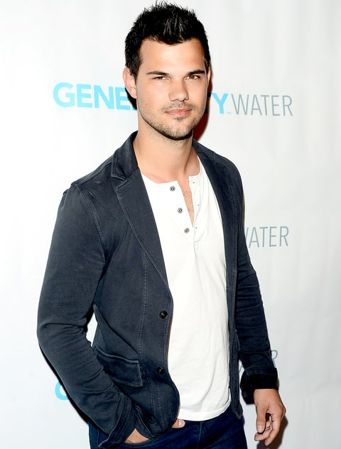 Taylor Lautner attends the Generosity Water Launch at Montage Beverly Hills on March 22, 2016 in Beverly Hills, California.