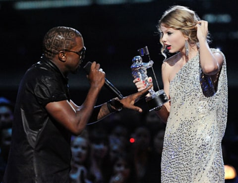 taylor swift and kanye