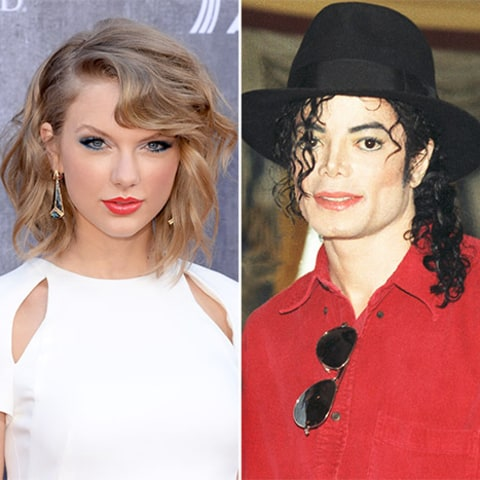 Taylor Swift and Michael Jackson