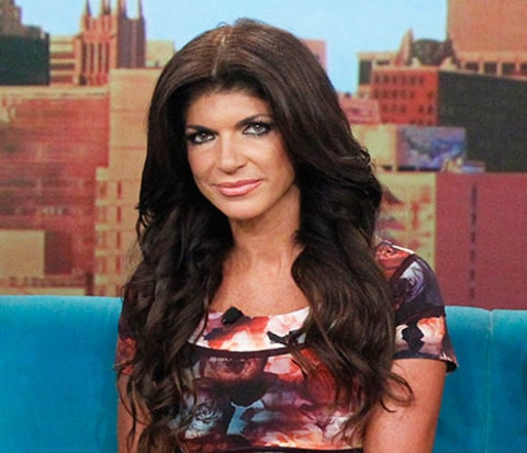 teresa giudice not happy
