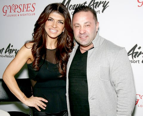Teresa Giudice and Joe Giudice appears at Mount Airy Resort Casino for a book signing and meet and greet on March 5, 2016 in Mount Pocono City.