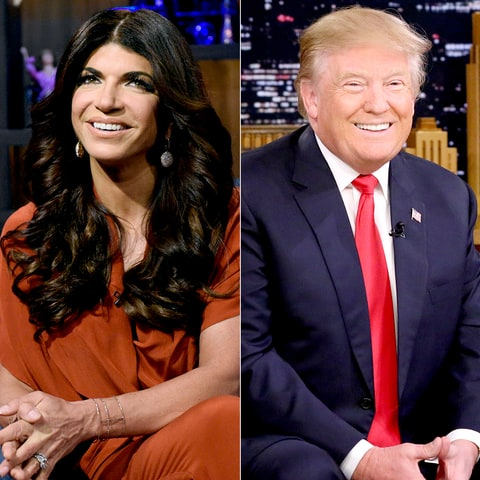 Teresa Giudice and Donald Trump