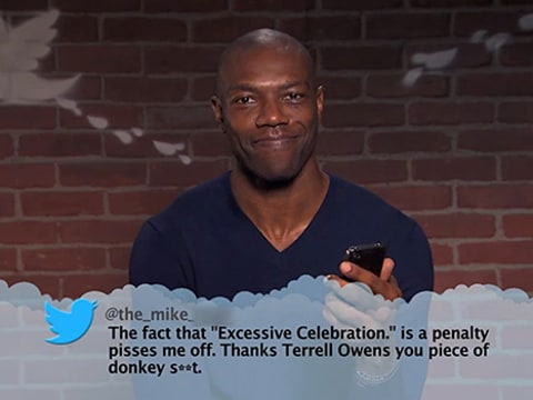 Terrell Owens Mean Tweet
