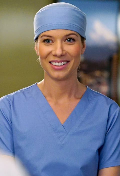 Tessa Ferrer on Grey's Anatomy