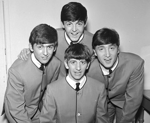 The Beatles group shot
