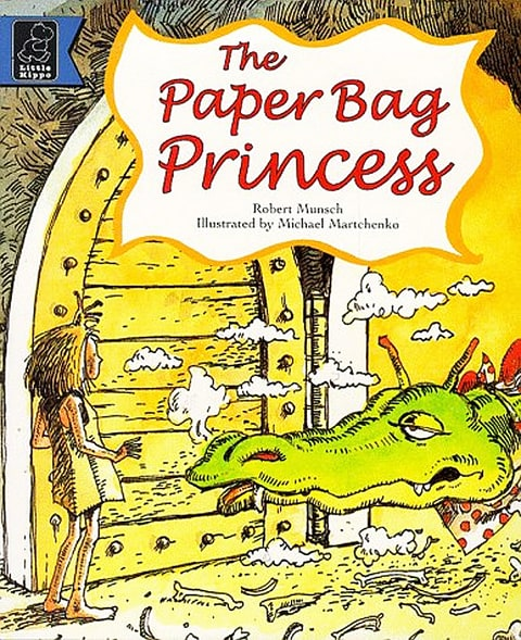 Paper Bag Princess Book Cover ~ Jodi picoult shares the books that shaped her us weekly