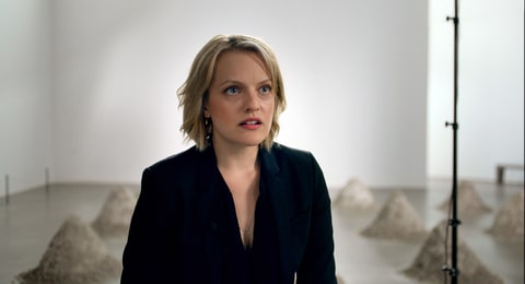 Elisabeth Moss the square