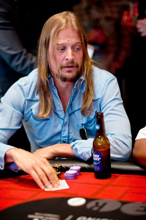 Tiger Woods Poker Kid Rock