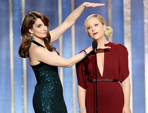 tina and amy host 2013 golden globes