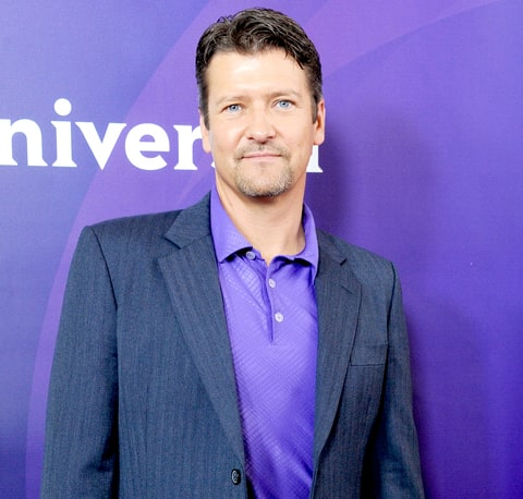 Todd Palin arrives at the 2012 NBC Universal TCA summer press tour.