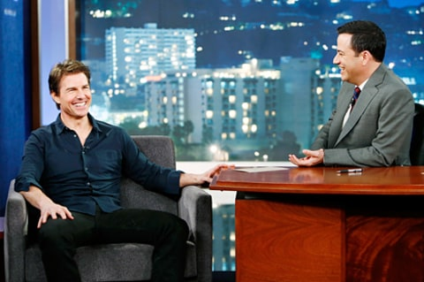 tom cruise on kimmel