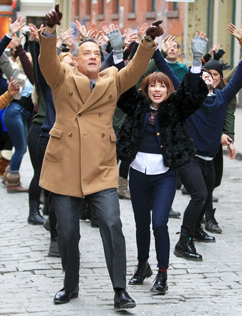 Carly Rae Jepson and Tom Hanks