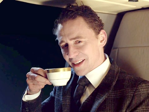 Jaguar Super Bowl Ad - Tom Hiddleston