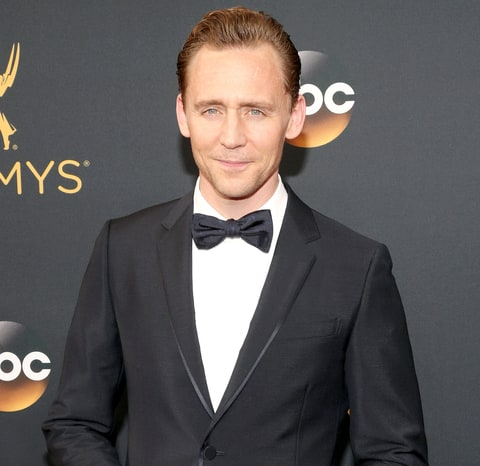 Tom Hiddleston attends the 68th annual Primetime Emmy Awards at Microsoft Theater on Sept. 18, 2016, in Los Angeles.