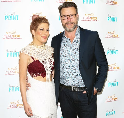 Tori Spelling gives birth to fifth child, a son with Dean McDermott