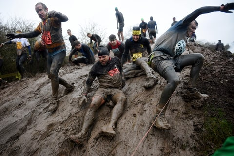 tough guy mud race england mr. mouse