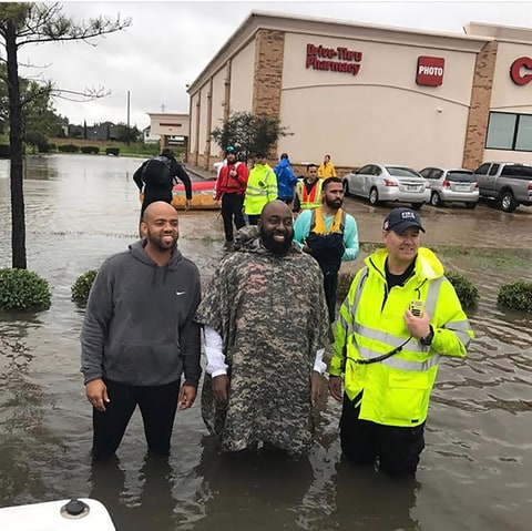 trae the truth houston rescue mission hurricane harvey